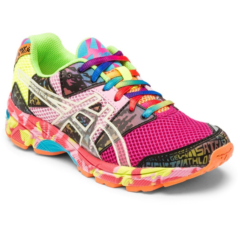 asics girls running shoes