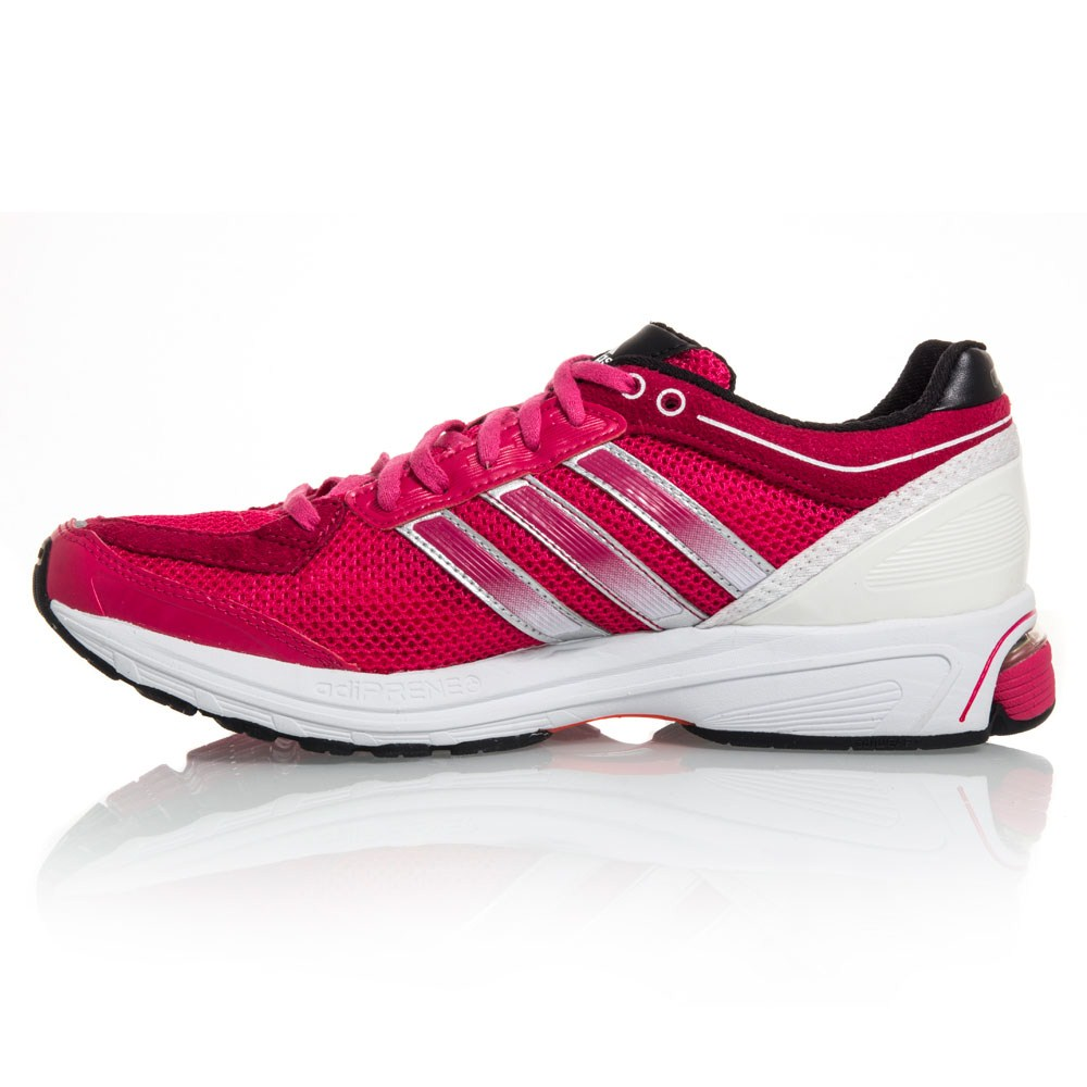 Womens Adidas Black Pink Running Shoes Response Boost 2.0 ...