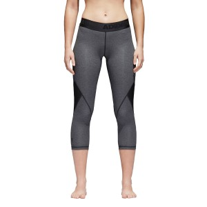 Adidas Alphaskin Sport Heather Womens 3/4 Training Tights
