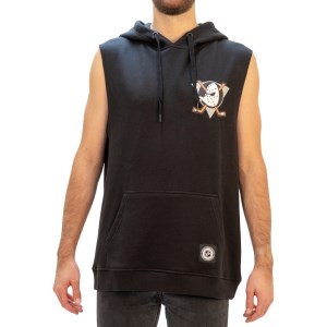 Majestic Athletic Anaheim Ducks Vernon Mens Hockey Muscle Hoodie