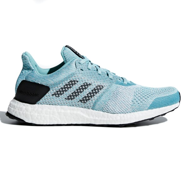 Adidas Ultra Boost ST Parley - Womens Running Shoes - Blue/White/Ink