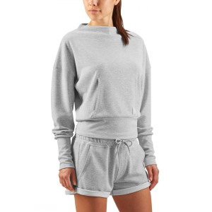Skins Plus Wireless Sport Fleece Womens Crew Neck