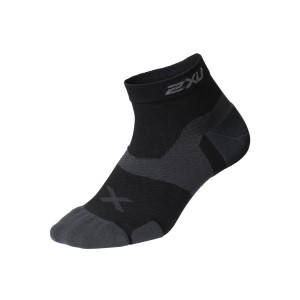 2XU Vectr Cushion 1/4 Crew - Unisex Running Socks