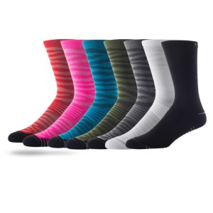 Lightfeet Cadence Crew - Unisex Running Socks