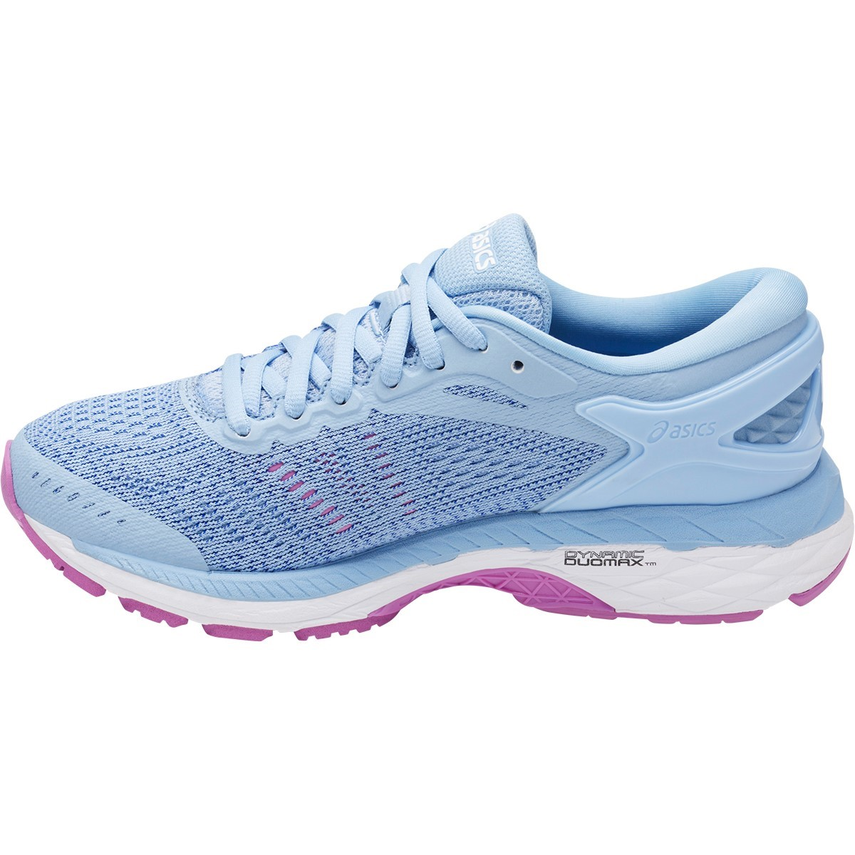 Asics Gel Kayano 24 GS - Kids Girls Running Shoes - Airy Blue/Regatta Blue