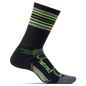 Feetures Elite Light Cushion Mini Crew - Unisex Running Socks
