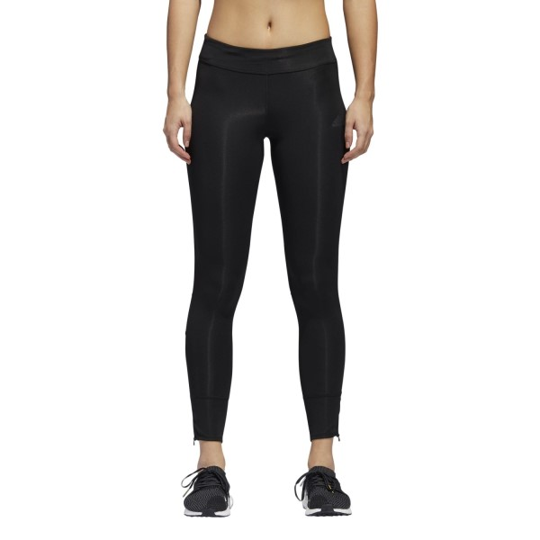 Adidas Response Womens Running Long Tights - Black