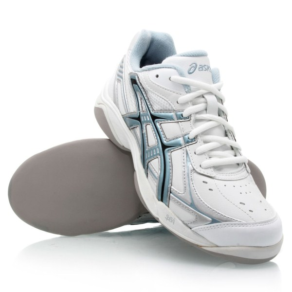94ec36cdaee6 Asics Gel Hotkitty - Womens Lawn Bowls Shoes - White Sky Blue Navy ...