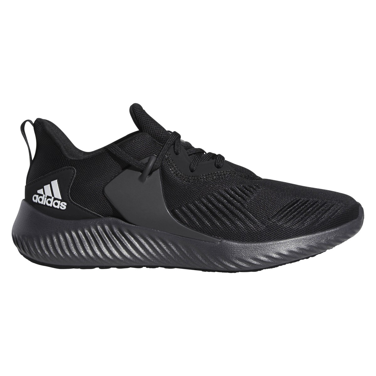 8115f0e9cfc4fd Adidas AlphaBounce RC 2 - Mens Running Shoes - Core Black White Carbon