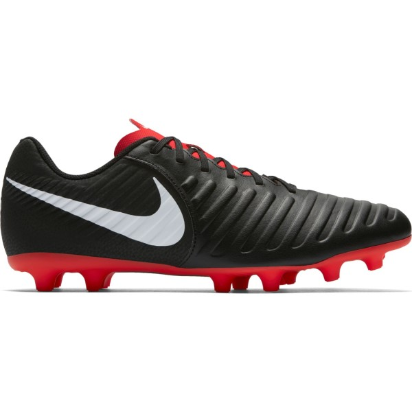 Nike Tiempo Legend VII Club MG Mens Football Boots - Black/Pure Platinum/Crimson