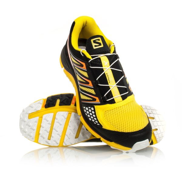 7aff6c085a72 Salomon X-Wind PRO - Mens Trail Running Shoes - Canary Yellow Black ...