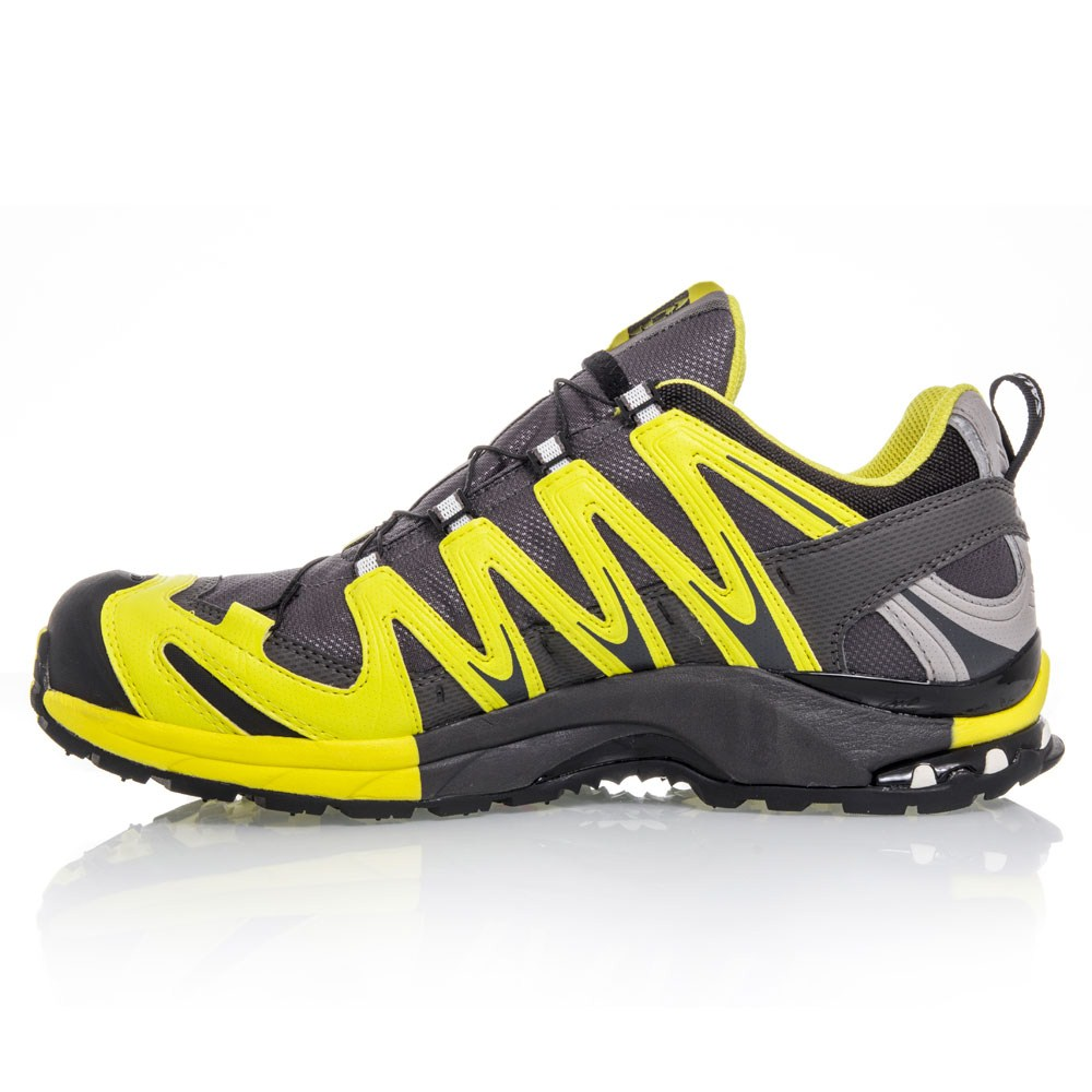 salomon xa pro 3d ultra 2 gtx mens trail running shoes grey yellow online sportitude. Black Bedroom Furniture Sets. Home Design Ideas