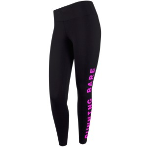 Running Bare High Rise Word On The Street Full Length Womens Training Tights