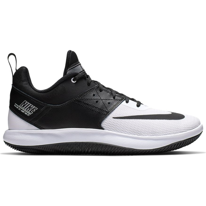 f85472071692 Nike Fly By Low II - Mens Basketball Shoes - Black White