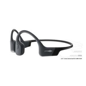 AfterShokz AeroPex Mini Bone Conduction Open Ear Headphones