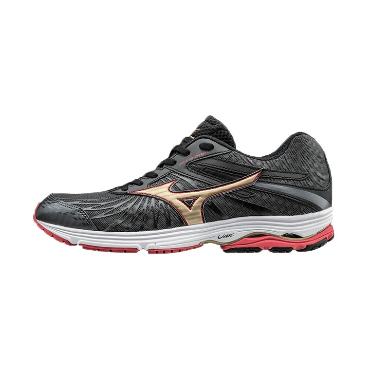 e203bd22d843 Mizuno Wave Sayonara 4 - Mens Running Shoes - Dark Shadow/Chinese Red