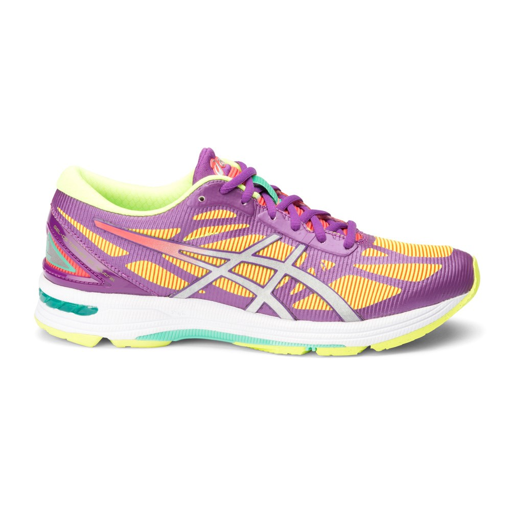 Asics Gel Ds Trainer  Womens Shoes Purple Yellow