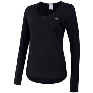 Running Bare Warm Down Marathon Womens Long Sleeve Training T-Shirt