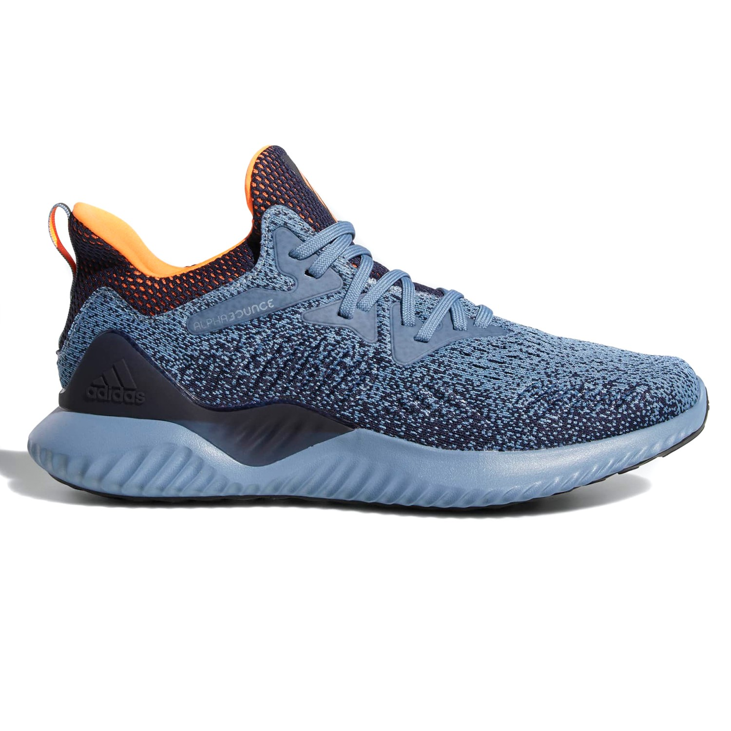 4a2619e95 Adidas AlphaBounce Beyond - Mens Running Shoes - Grey Orange Ink ...