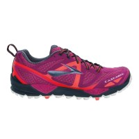 Brooks Cascadia 9 - Womens Trail Running Shoes - Festival Fuschia/Midnight