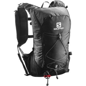 Salomon Agile 12 Trail Running Backpack Set - Black