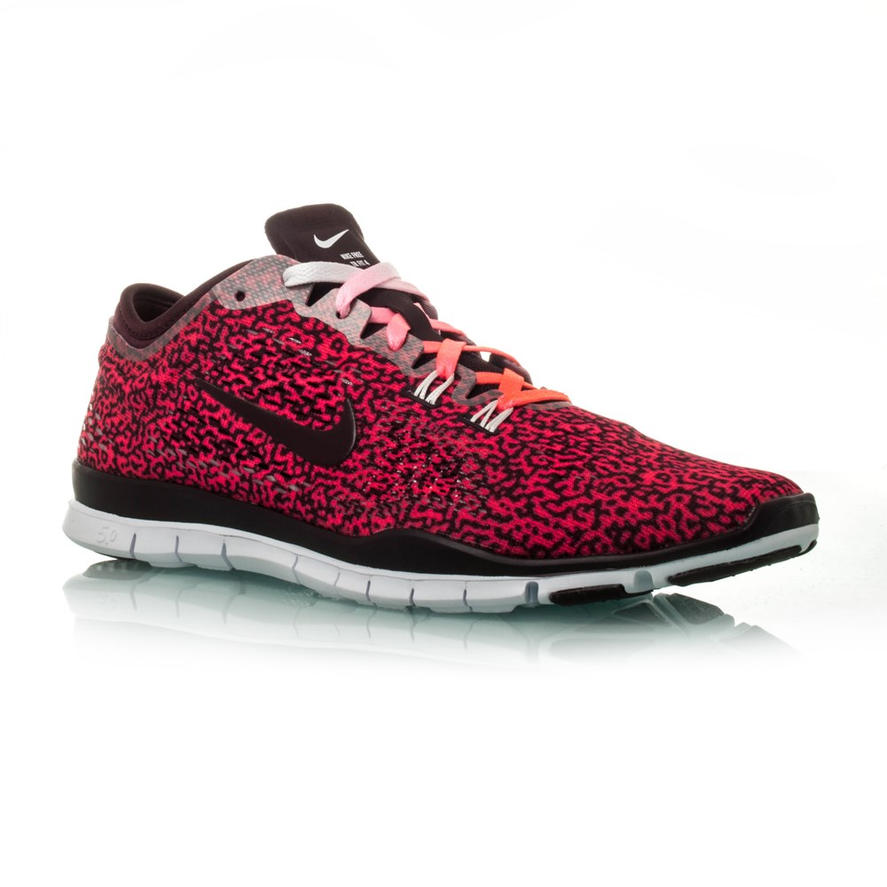 nike free 5 0 tr fit 4 print womens training shoes. Black Bedroom Furniture Sets. Home Design Ideas