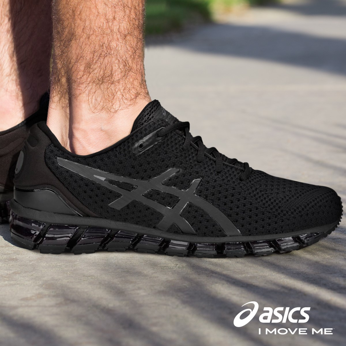 hot sale online 4dfbe 7710a Asics Gel Quantum 360 Knit 2 - Mens Training Shoes - Black