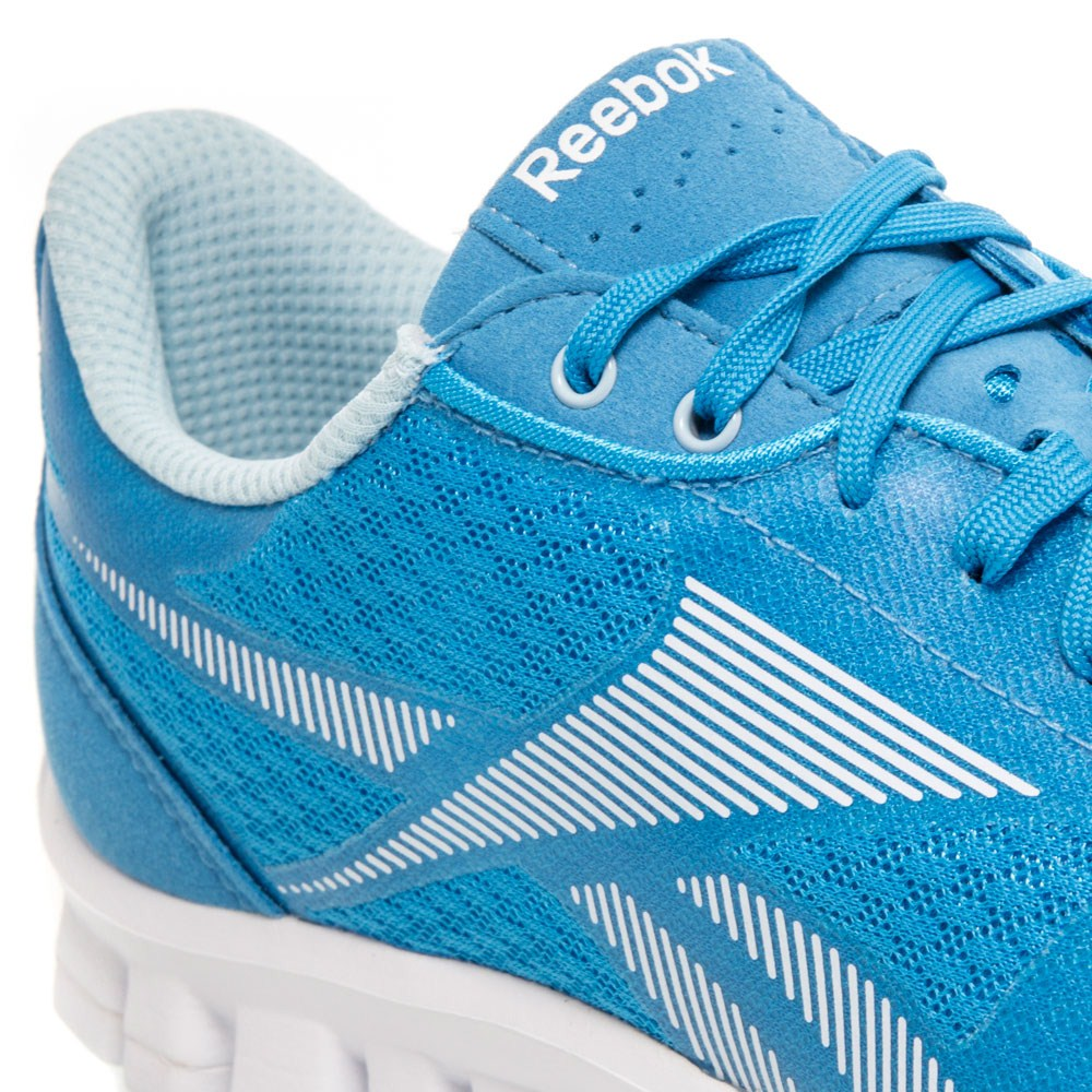 reebok realflex optimal womens running shoes blue