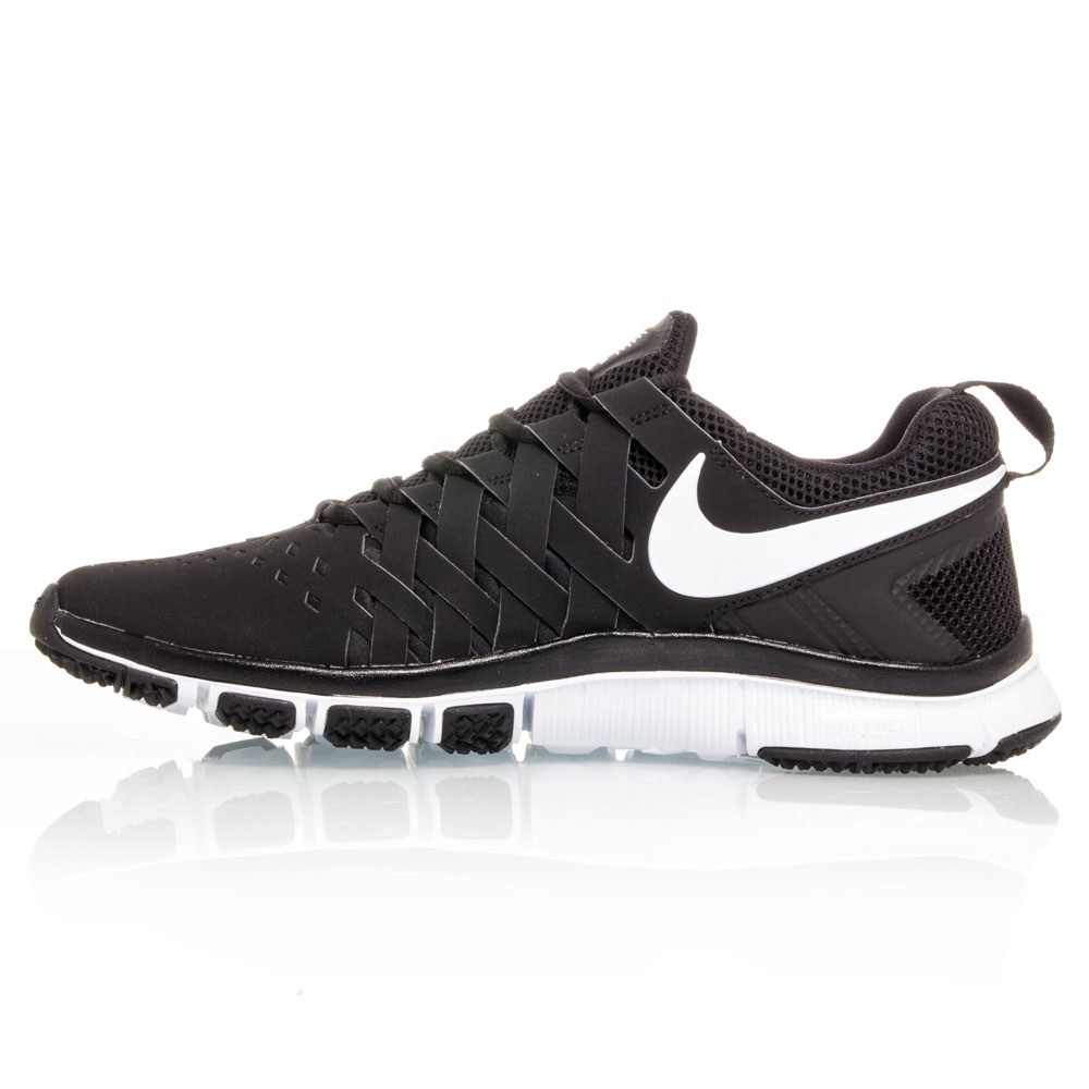 nike free trainer 5 0 mens training shoes black white. Black Bedroom Furniture Sets. Home Design Ideas