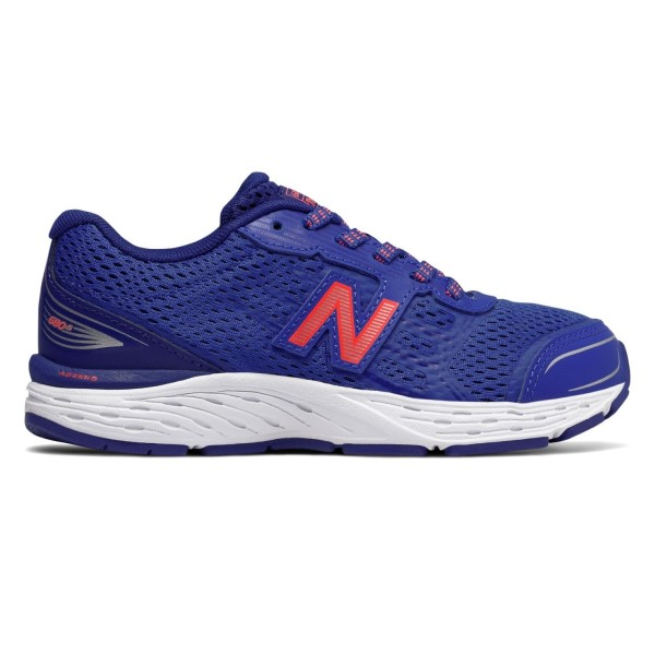 New Balance 680v5 - Kids Boys Running Shoes - Pacific/Dynamite