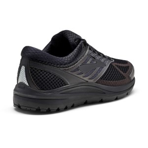 Brooks Addiction 13 (2E) - Mens Running Shoes - Black/Ebony