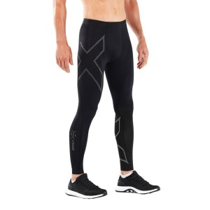 2XU MCS Run Mens Compression Tights With Back Storage