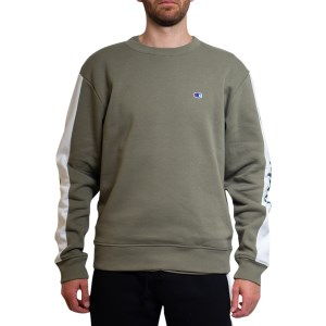 Champion Sporty Panel Crew Mens Sweatshirt