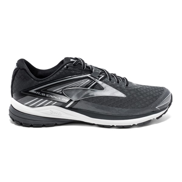 Brooks Ravenna 8 - Mens Running Shoes - Anthracite/Silver/Black