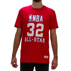 Mitchell & Ness Magic Johnson NBA All-Star West Mens Basketball T-Shirt