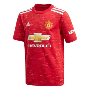 Adidas Manchester United Home 2020/21 Kids Soccer Jersey