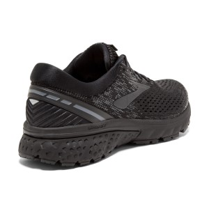 Brooks Ghost 11 - Womens Running Shoes - Black/Ebony