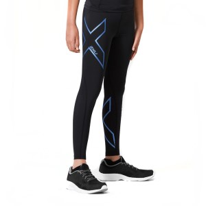 2XU Kids Girls Compression Long Tights