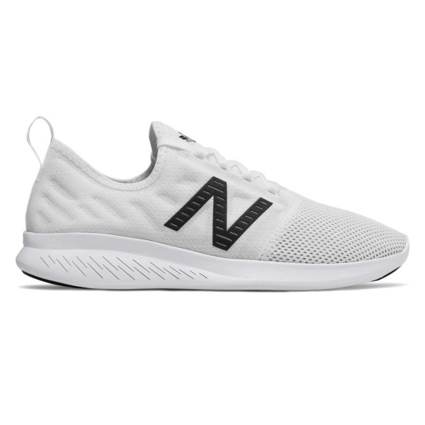 New Balance Fuel Core Coast v4 - Womens Running Shoes - White/Black