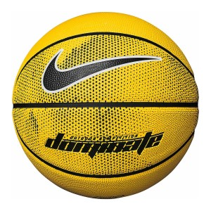 Nike Dominate Outdoor Basketball - Size 7 - Amarillo/Black/White