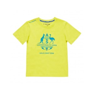 Diadora Commonwealth Games Logo Kids Training T-Shirt