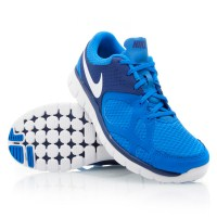 763b55c24d32 Nike Flex 2012 RN (010) - Mens Running Shoes - Blue White ...