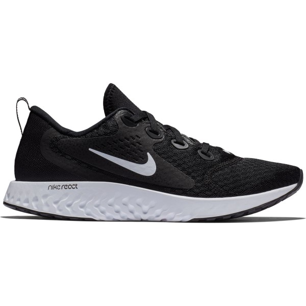 Nike Legend React - Womens Running Shoes - Black/White