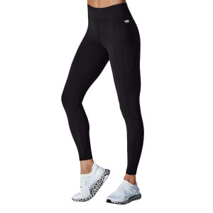 Running Bare Flex Zone Womens Full Length Training Tights
