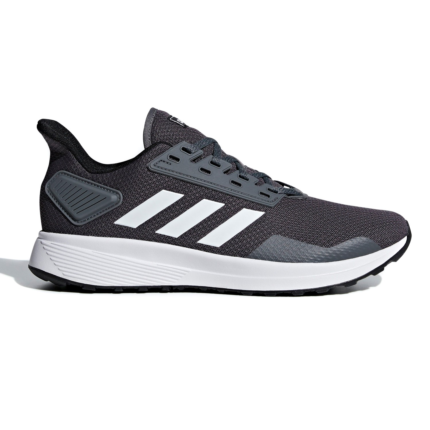 low priced b6fb3 a3533 Adidas Duramo 9 - Mens Running Shoes - GreyFootwear White
