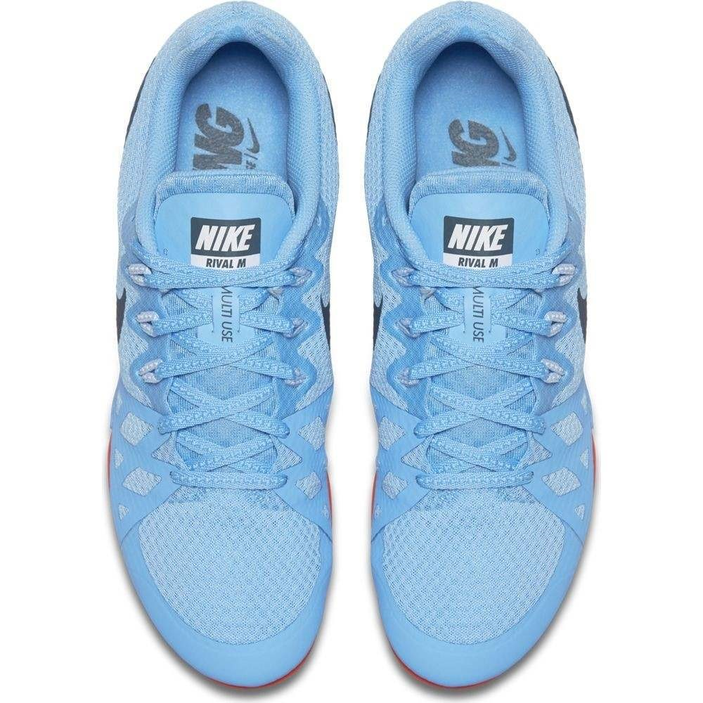 b5c94be607866 Nike Zoom Rival M 8 - Unisex Track Running Spikes - Football Blue Ice Blue