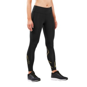 2XU MCS Force Cross Train Mid Rise Womens Compression Tights