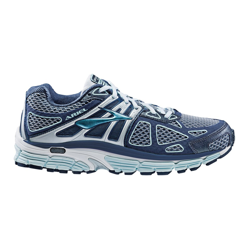 a426f3f716f Brooks Ariel 14 - Womens Running Shoes - Breeze Midnight Silver ...