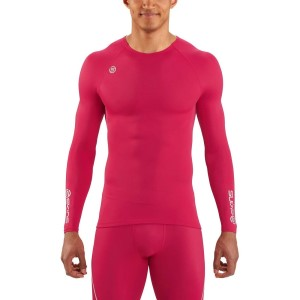 Skins DNAmic Team Mens Compression Long Sleeve Top