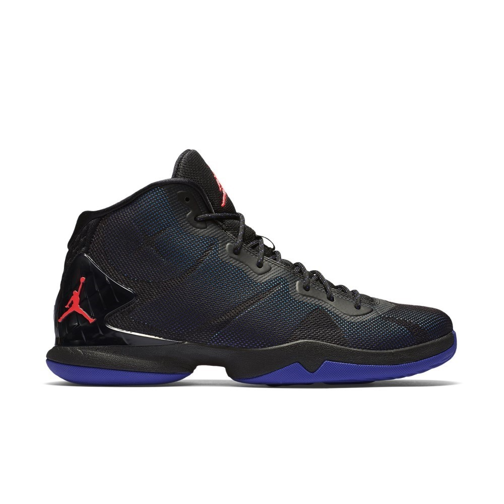 a4aea4bc0483 Jordan Super.Fly 4 - Mens Basketball Shoes - Black Bright Concord Blue